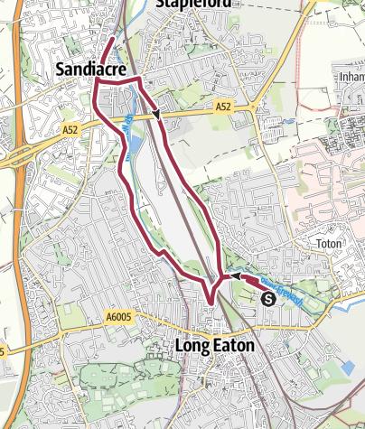 Map / Long Eaton Circular 25 Nov 2016 12:22:34