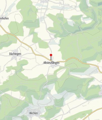 """Karte / Landgasthof """"Adler"""", Altsteußlingen"""