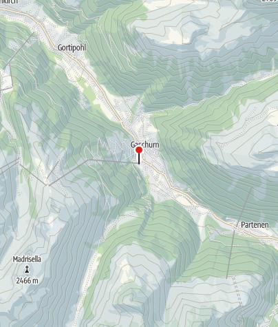 Karte / Silvretta Montafon Versettla Bahn