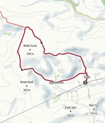 Map / Edale Route 14 Jul 2014 12:52:01