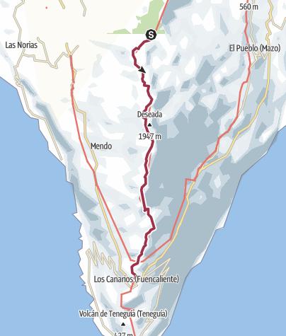 Mappa / Ruta de Los Vulcanos 10 ago 2017 9:16:16 AM