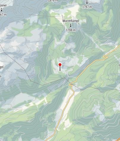 Karte / Hintersteineralm 1025m