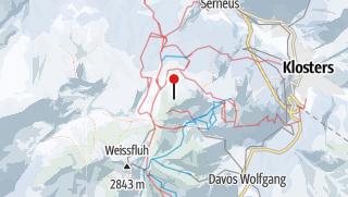 Karte / Parsenn Davos Klosters