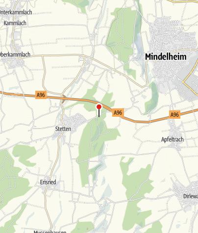 Karte / Kneippanlage in Stetten