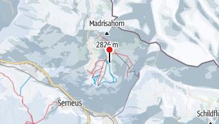 Karte / Madrisa