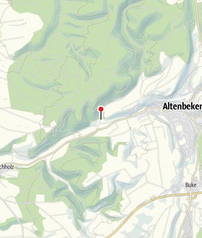 Kaart / Altes Forstamt im Teutoburger Wald