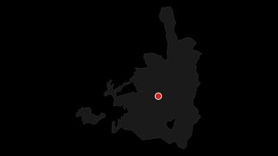 מפה / מוזיאון ישראל, הכנסת ומוזיאון יד ושם - סיור רגלי בירושלים