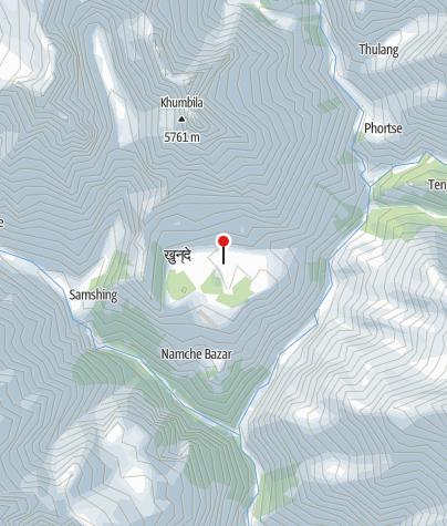 Karte / Khumjung 3790m