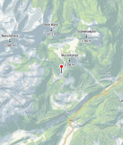 Karte / Kreuzbauernalm 1460m