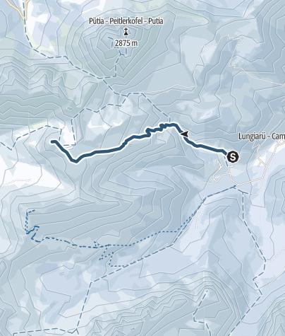 Cartina / Sci alpinismo al Col di Poma