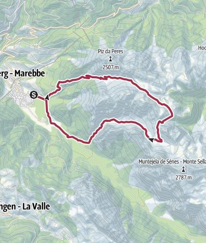 Map / Summer hike: around Monte Paracia