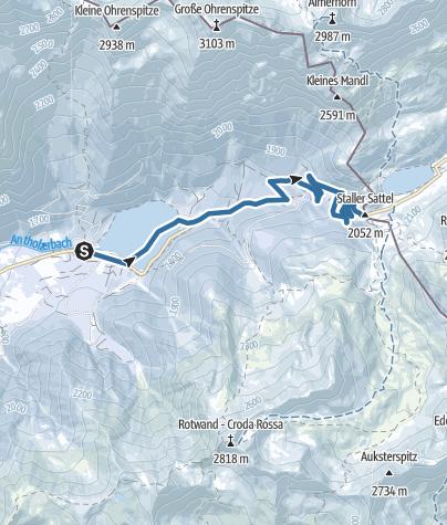 Mappa / Ciaspolata: Passo Stalle