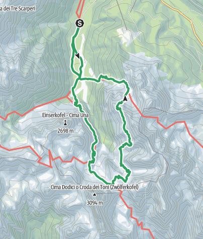 Karte / Klettersteig - Alpinisteig