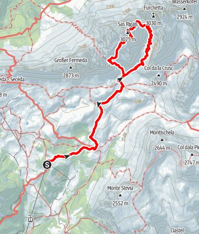 Karte / Sas Rigais
