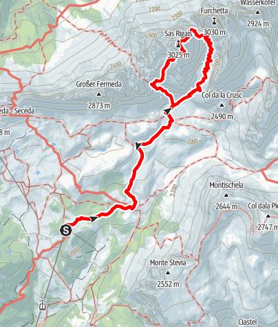 Map / Sas Rigais