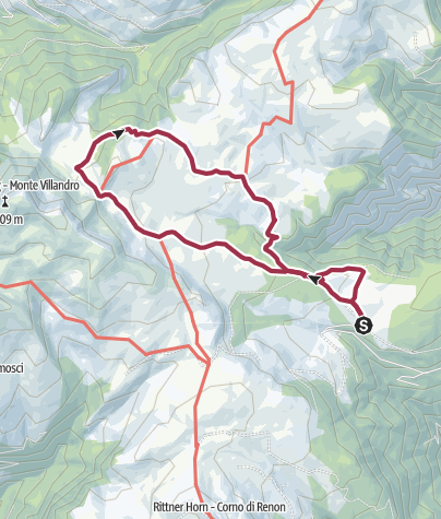 Map / Circular route Alp of Villanders/Villandro