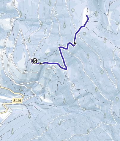Cartina / Pista da slittino Ackerboden-S. Leonardo