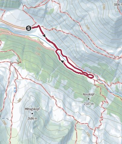 Cartina / Escursione sulla Malga di Melago