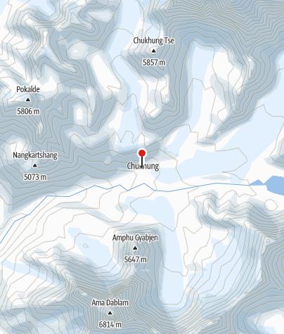 Karte / Chukhung Lodge 4730m