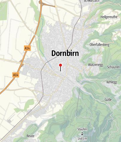 Karte / inatura – Erlebnis Naturschau Dornbirn