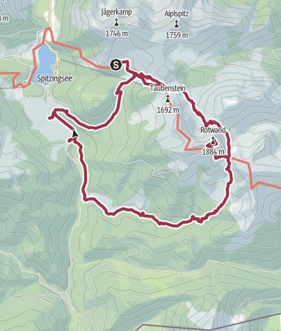 Karte / Drei-Seen-Tour Tag 2