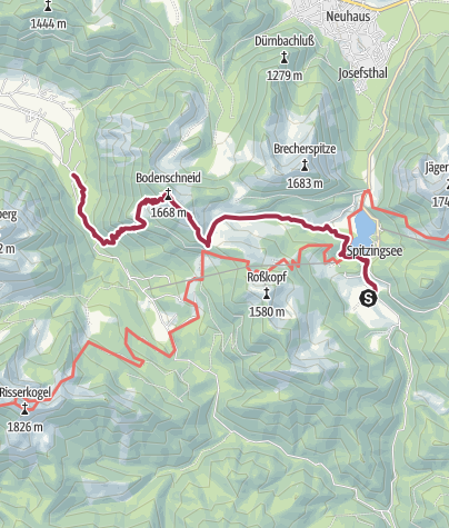 Map / Drei-Seen-Tour Tag 3