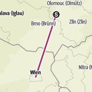 Mapa / Výlet naplánován: 15. května 2020