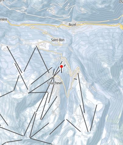 Map / Courchevel