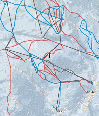 Map / Flims-Laax-Falera