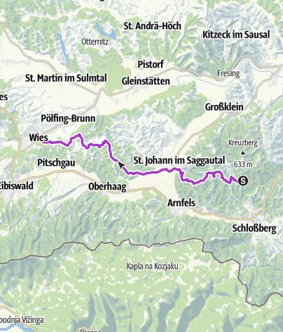 Map / Welschlauf Halbmarathon 2019