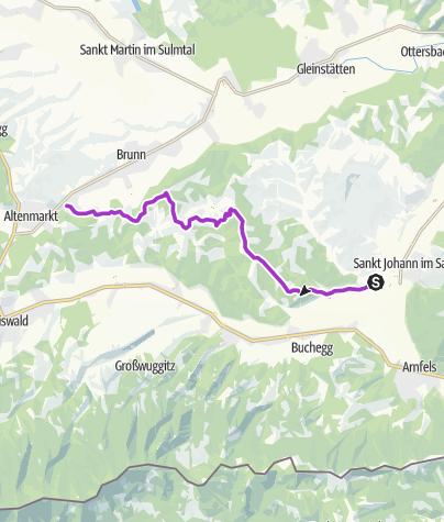 Map / Welschlauf Viertelmarathon 2019