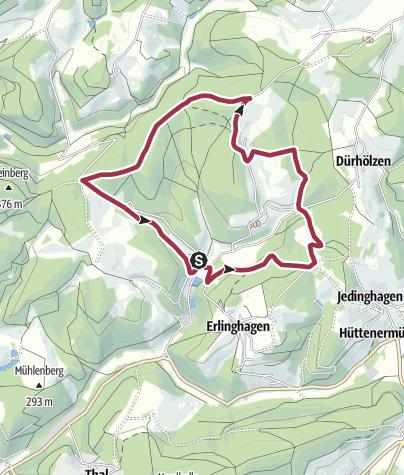 Karte / Wanderung 2006