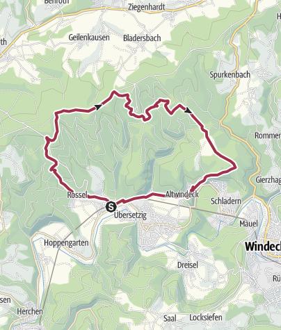 Karte / Wanderung 2007