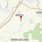Térkép / HöhlenErlebnisWelt Giengen-Hürben