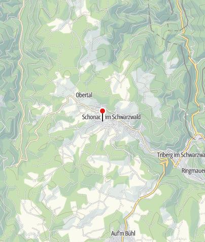 Map / Schwarzwald-Gasthof Schwanen