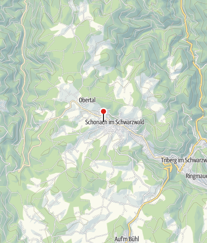 Map / Gasthof Zur Stadt Triberg