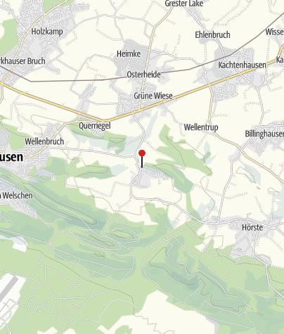 Kaart / Hotel Mügge am Iberg