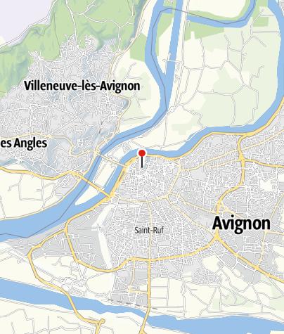 Map / Papstpalast (Palais des Papes)