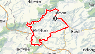 Map / Kusel - Preußensteig