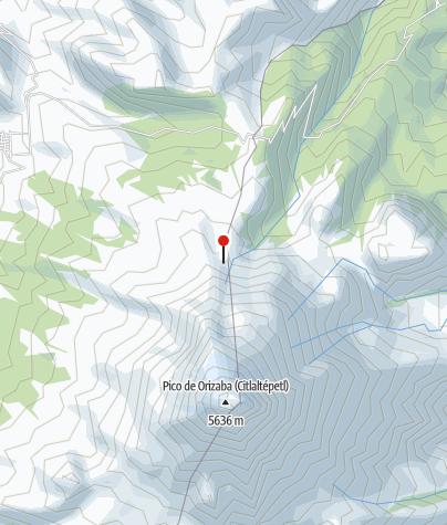 Karte / Piedra Grande 4260m