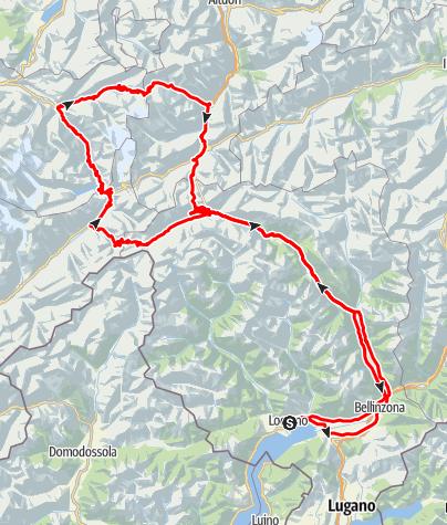 Nufenenpass, Grimselpass, Sustenpass, Gotthardpass • Motorrad ...