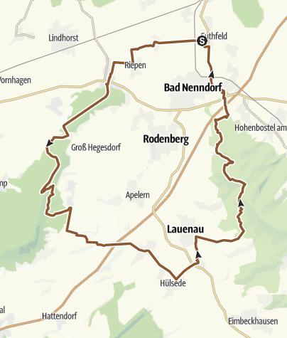 地图 / Heisterberg-Bueckeberg-Auetal-Deister-Runde