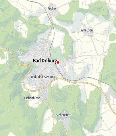 Karte / Modellbundesbahn Bad Driburg