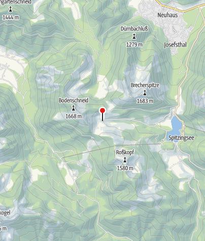 מפה / Berggasthof Untere Firstalm
