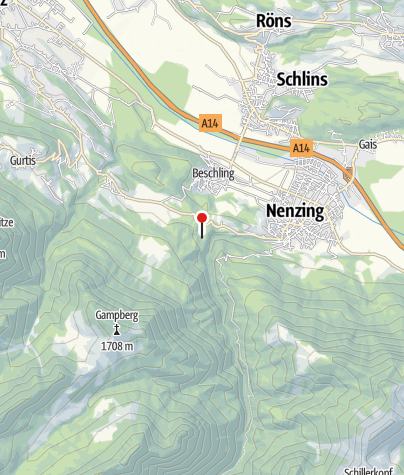 Karte / Alpencamping Nenzing