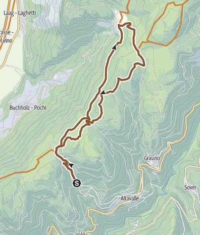 Karte / 874 - Masi di Grumes-Cauria