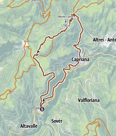 Karte / 875 - Monte Corno
