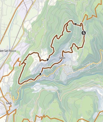 Karte / 871 - Monte Corona