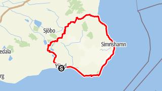 Map / Skåneleden – Österlenleden – Gesamttour
