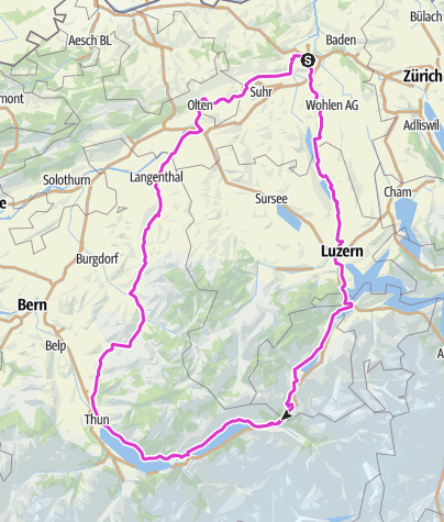 Karte / 7 Seentour 2020